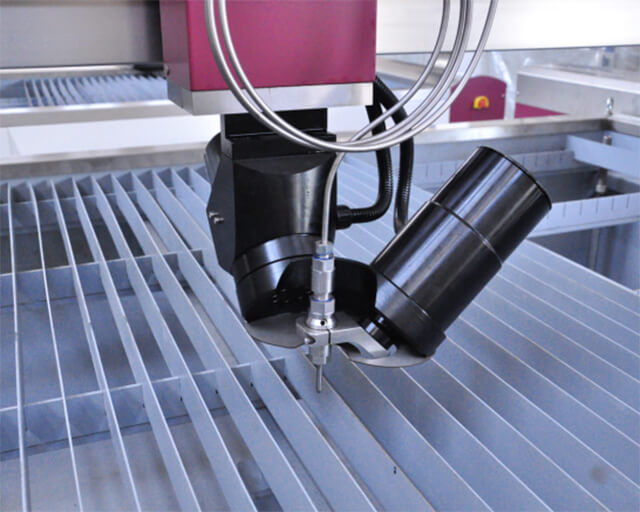 Application of waterjet cutting machine in stone industry